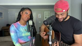 Stuck With U - Ariana Grande & Justin Bieber *Acoustic Cover* by Will Gittens & Kaelyn Kastle
