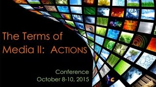 Terms of Media Conference II: Actions - Keynote Speakers - Marcell Mars and Rick Prelinger
