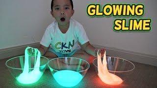 GLOWING SLIME Fun With CKN Toys