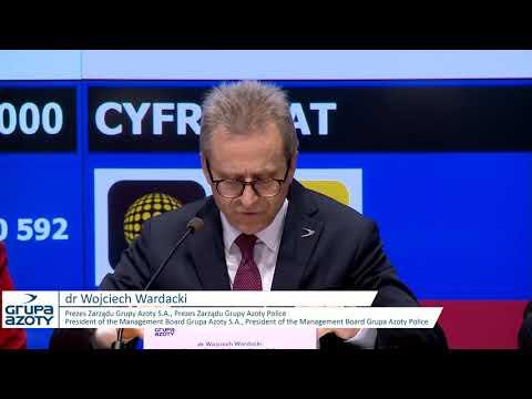 Grupa Azoty - presentation of Q1 2019 results - zdjęcie