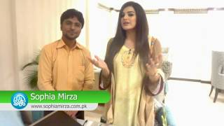 Sophia Mirza is Launching her official website through Kamran Hayat CEO. Kamariiadd