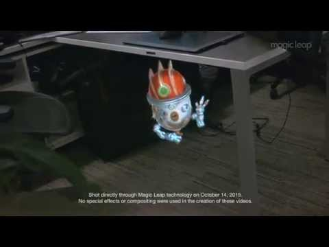 Démo Magic Leap