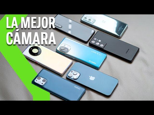 ¿La cámara del IPHONE es la MEJOR Cámara móvil? Comparativa FOTOGRÁFICA entre los MEJORES móviles de 2021