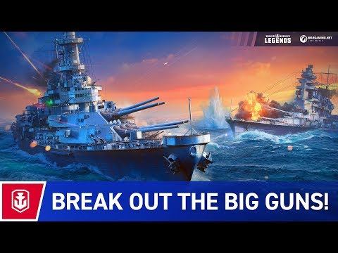 World of Warships: Legends trailer thumbnail