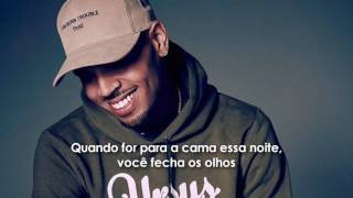 Chris Brown - Lady In The Glass Dress (legendado)