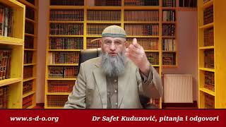 Dr Safet Kuduzović   Dova za roditelje…