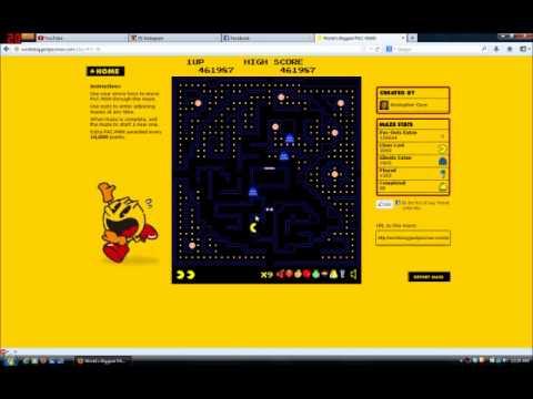 World's Biggest Pacman Video 0