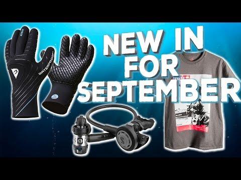 New Dive Gear For September 2017
