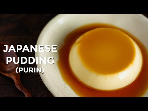 """How To Make Japanese Pudding """"Purin"""