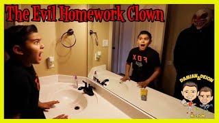 THE EVIL HOMEWORK CLOWN | D&D SQUAD BATTLES | DAMIAN & DEION IN MOTION