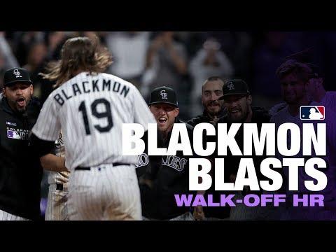 Blackmon blasts off walk-off HR!