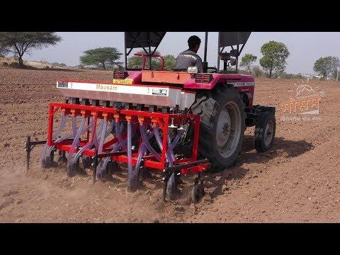 Zero Till Seed Cum Fertilizer Drill