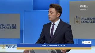 Zgjedhjet Lokale 2021 - Gara për Kryetar të Lipjanit 13.10.2021