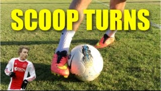 Scoop Turn Football Soccer Skill