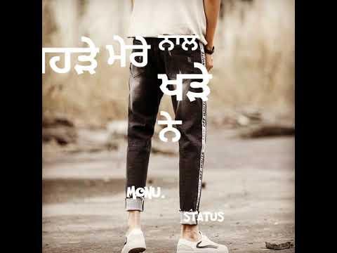 Amantej Hundal New WhatsApp status Latest Punjabi song video