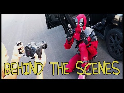 Deadpool Trailer - Homemade Behind the Scenes
