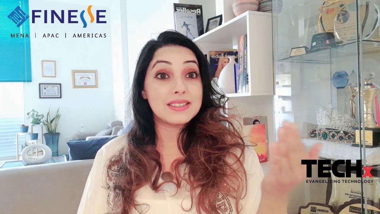 Isha Farha Quraishy from Finesse on IWD 2021