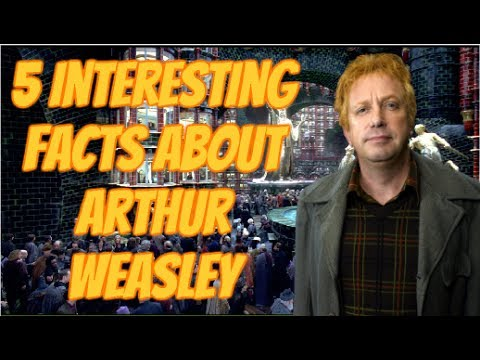 5 Interesting Facts About Arthur Weasley