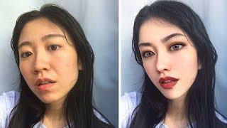 Девушки До и После фотошопа ♥ Невероятная Трансформация