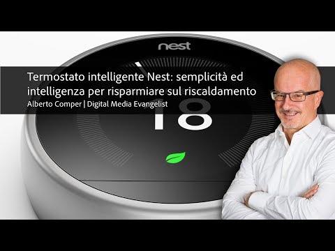 Termostato Nest: semplicità ed intelligenza per risparmiare sul riscaldamento