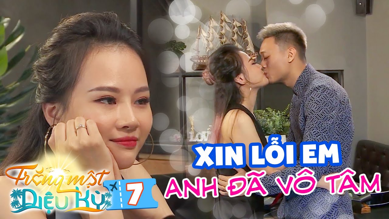 Trăng Mật Diệu Kỳ|Mùa 2-Tập 7:Chồng đi diễn với gái xinh, vợ Nhật Anh Trắng bật khóc vì lời gièm pha