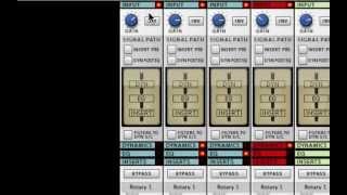 Input Section - Inserts- SSL Mixer Video Series - Reason - LearnReason.com