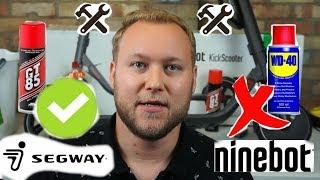NineBot Segway ES1/ES2/ES4 TIPS & Maintenance Guide!