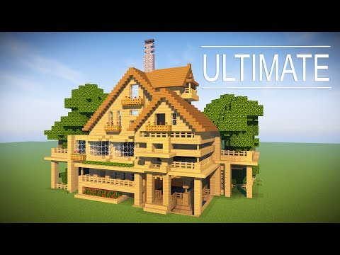 How to transform your minecraft house into the ultimate for Classic house tutorial