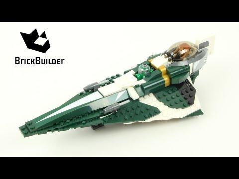 Vidéo LEGO Star Wars 9498 : Le Starfighter de Saesee Tiin
