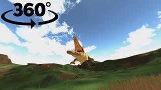 360° Zombies VS Crocodiles Promo