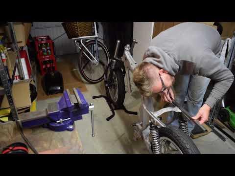 Honda CB400N Cafe Racer Projekt Umbau - Heckumbau Teil 1