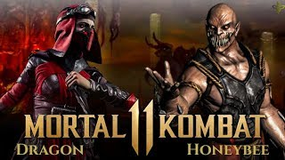 HIGH LEVEL MORTAL KOMBAT 11!  Dragon (Skarlet) vs HoneyBee (Baraka)