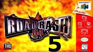 Road Rash 64 - Walkthrough - Part 5 - Level 5! - Video Youtube