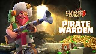 Plunder with the Pirate Warden! (Clash of Clans Season Challenges)  IMAGES, GIF, ANIMATED GIF, WALLPAPER, STICKER FOR WHATSAPP & FACEBOOK