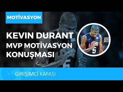 KEVIN DURANT'IN MVP MOTİVASYON KONUŞMASI