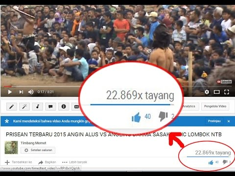 Video Tutorial Cara mendapatkan banyak viewer Penonton vidio youtube