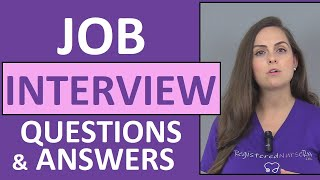 Nursing Interview Questions and Answers