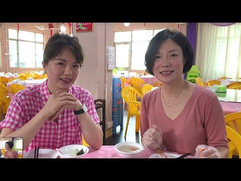 吃播在中山: 美女食堂, 香港旺角小龍女龍婷