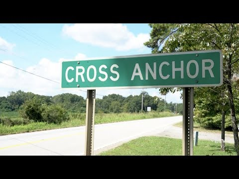 How did Cross Anchor get its Name?