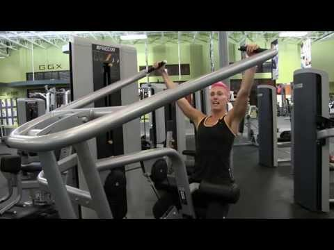 how to use gym equipment for women