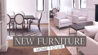 We Got Furniture!!  New Furniture / Home Tour