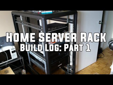 Home Server Rack – Build Log: Part 1