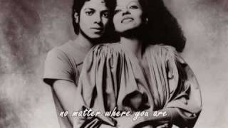 Diana Ross When you tell me that you love me lyric Video- Michael & Diana