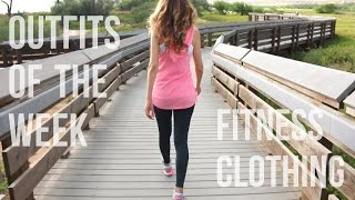Outfits Of The Week: Fitness Clothing