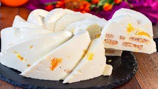 Торт без выпечки с фруктами: идеальный десерт для жарких дней, за несколько минут! | Appetitno.TV