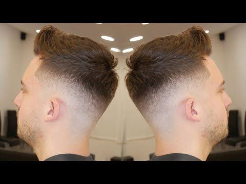 HAIRCUT TUTORIAL: HOW TO DO A TEXTURED QUIFF FOR BEGNNERS || FULL TUTORIAL