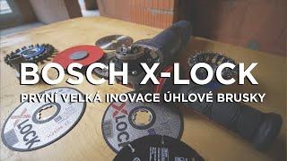 Bosch X-lock - první velká inovace flexy!!!