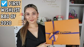UNBOXING MY FIRST WISHLIST BAG OF 2020 | LOUIS VUITTON