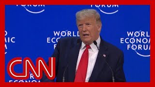 Trump snubs Davos 2020 vision in another America-first speech