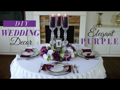 mp4 Wedding Decoration Purple And White, download Wedding Decoration Purple And White video klip Wedding Decoration Purple And White